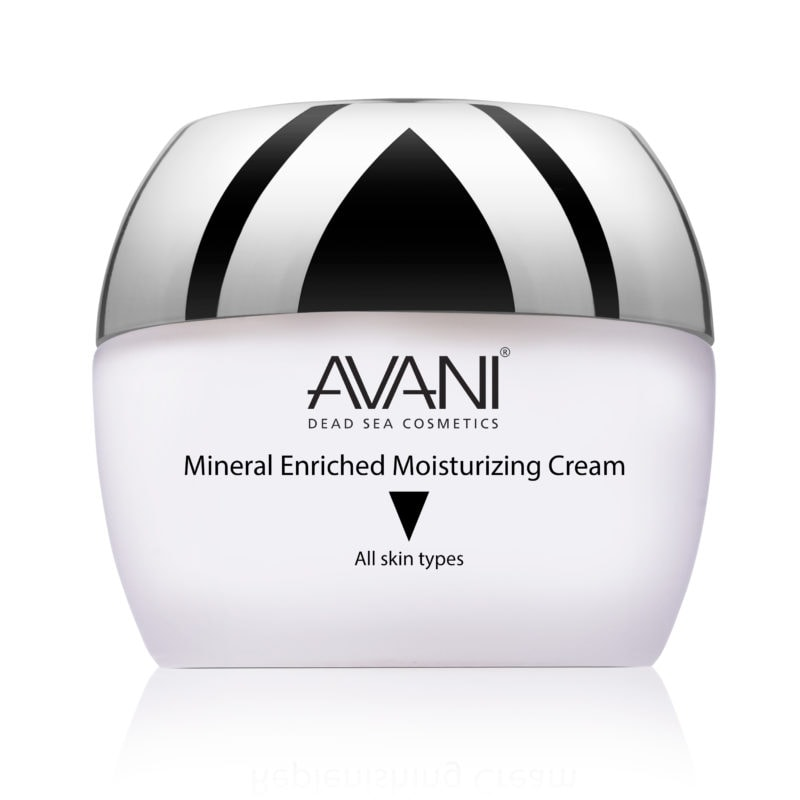 Mineral enriched moisturizing cream
