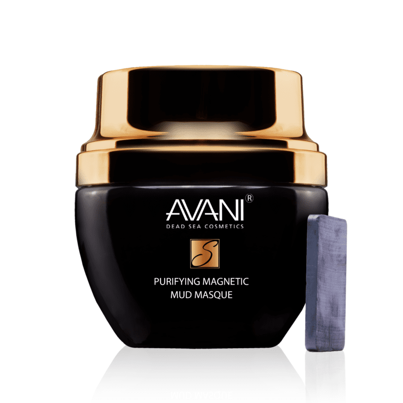 Purifying magnetic mud masque