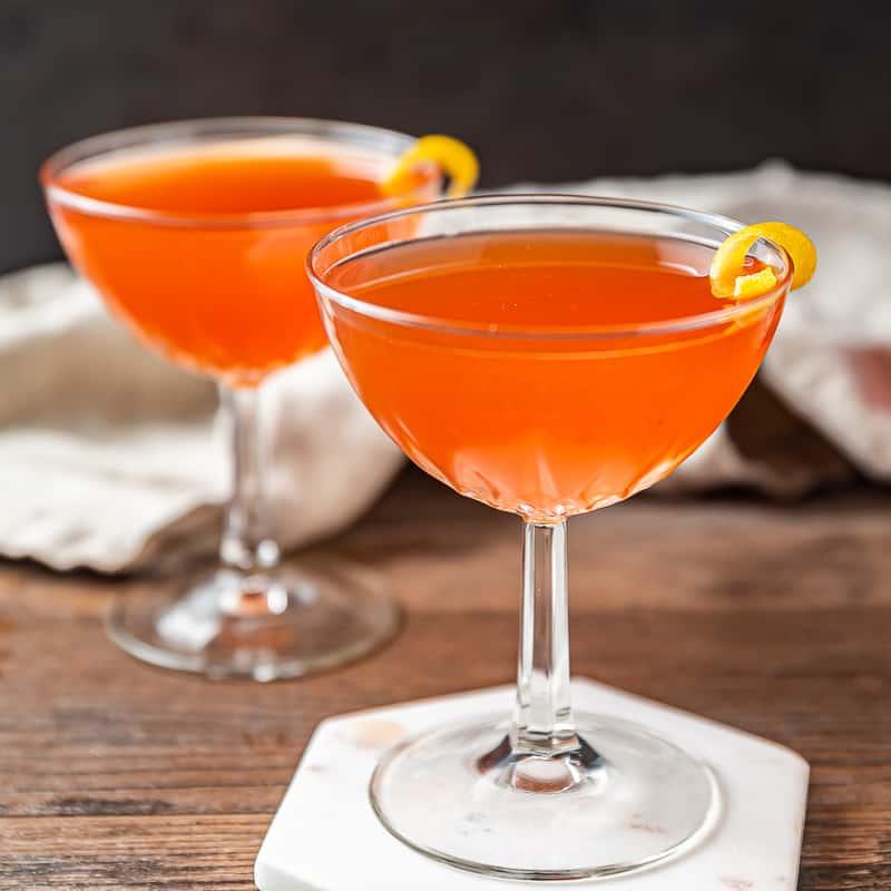 paper plane aperol cocktail