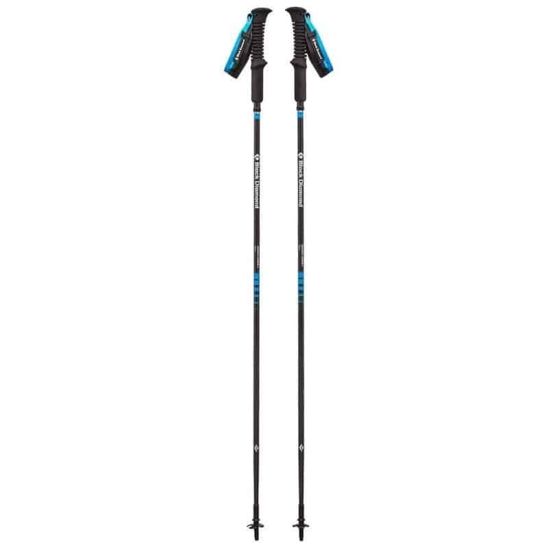 Black Diamond carbon trekking poles full size