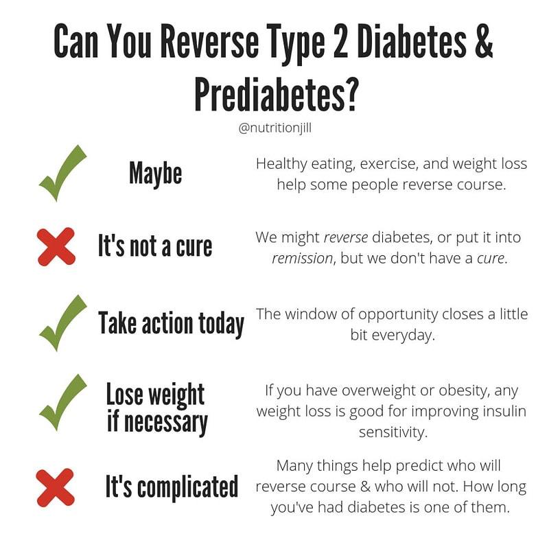 Revers diabetes chart
