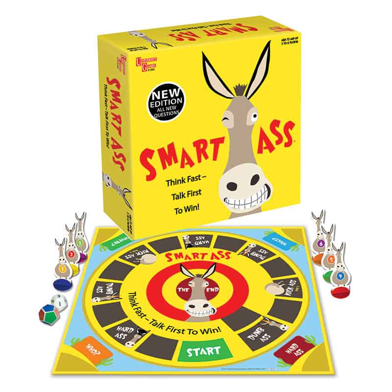 Smart Ass - Best Board Games to  Play on Family Game Night