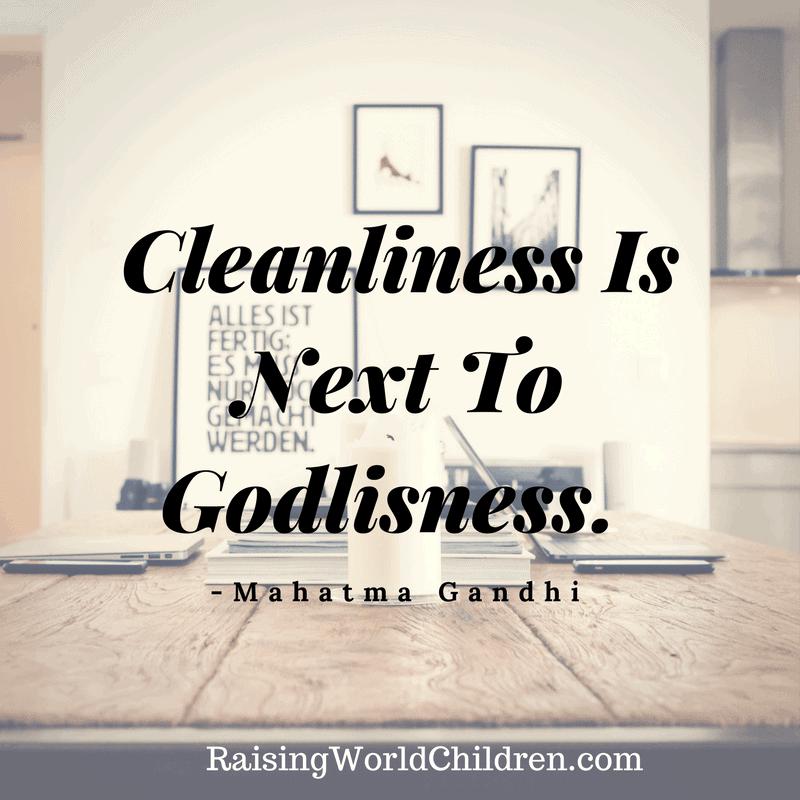 Raising World Children Gandhi Quote 4