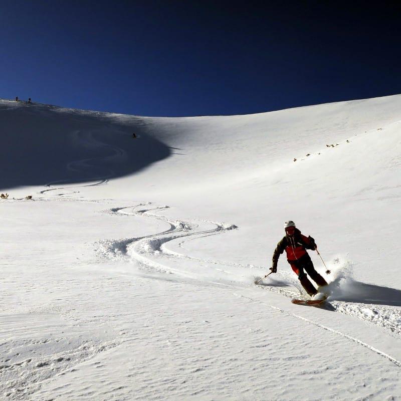 Ски туринг на Безбог