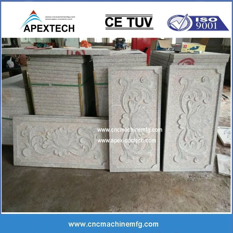 1825-2 stone Two Spindle Stone CNC Router Double Heads 3D CNC Router