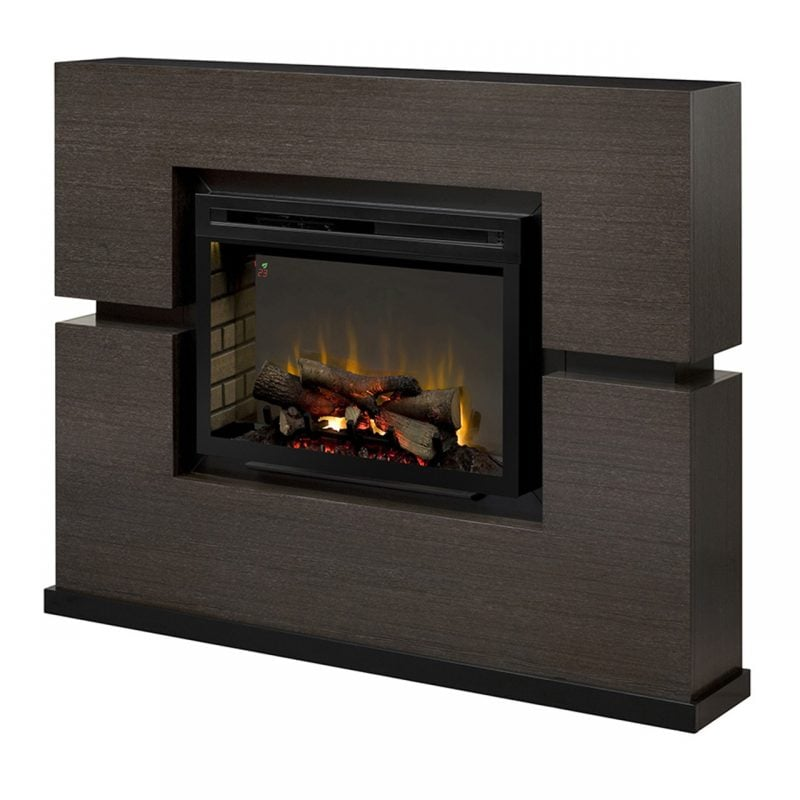 picture of electric fireplace mantel - Dimplex