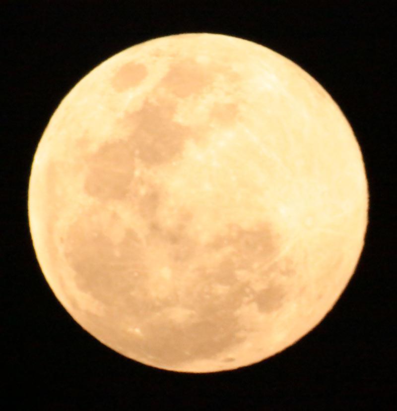 Super Lua - Fotografia: Henrique Vieira Filho