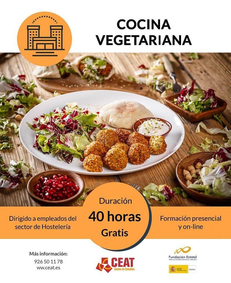 curso de cocina vegetariana para empleados