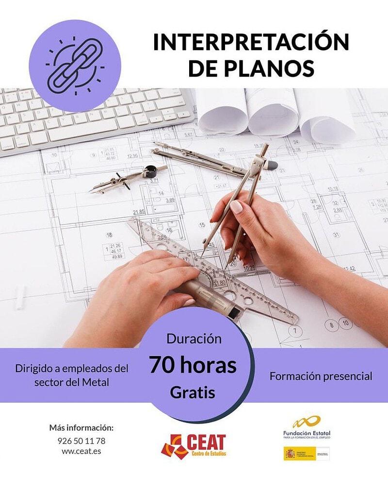 curso interpretación de planos para empleados