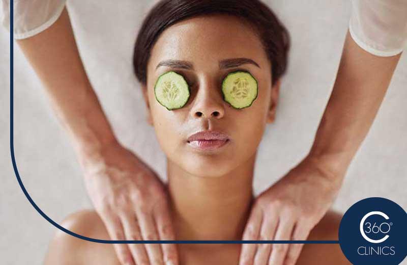 Mimate en la unidad de bienestar de 360 Clinics con los masajes estéticos