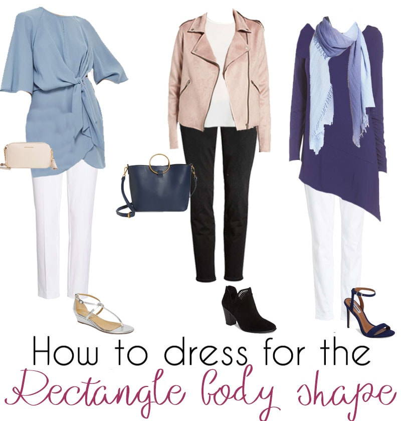 Outfit ideas for the rectangle body shape | 40plusstyle.com