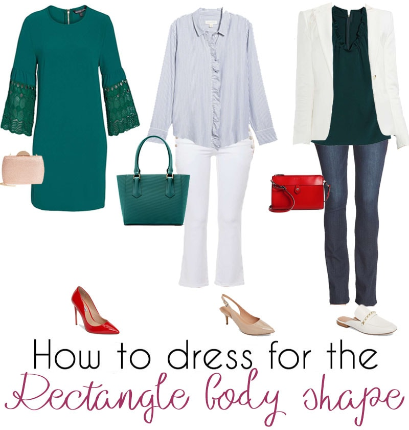 Outfit capsules for the rectangle body shape | 40plusstyle.com