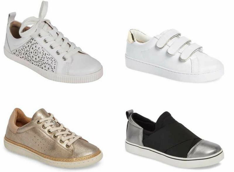 Arch support sneakers for women over 40 | 40plusstyle.com