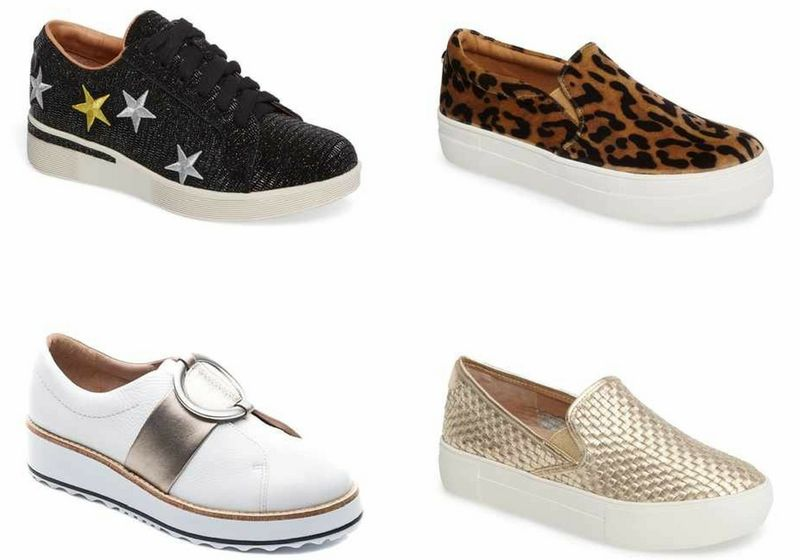 platform sneakers for women over 40 | 40plusstyle.com