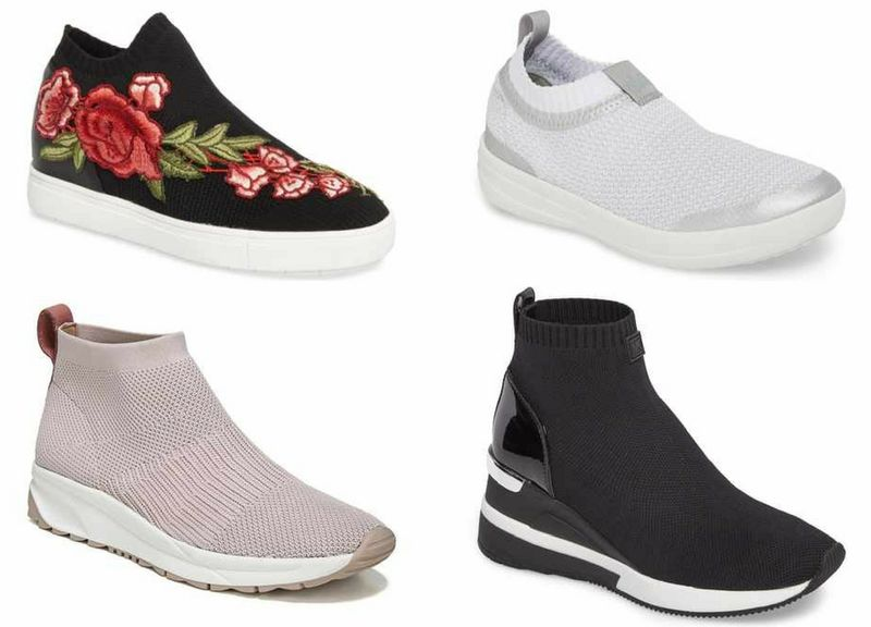 knitted sneakers | 40plusstyle.com