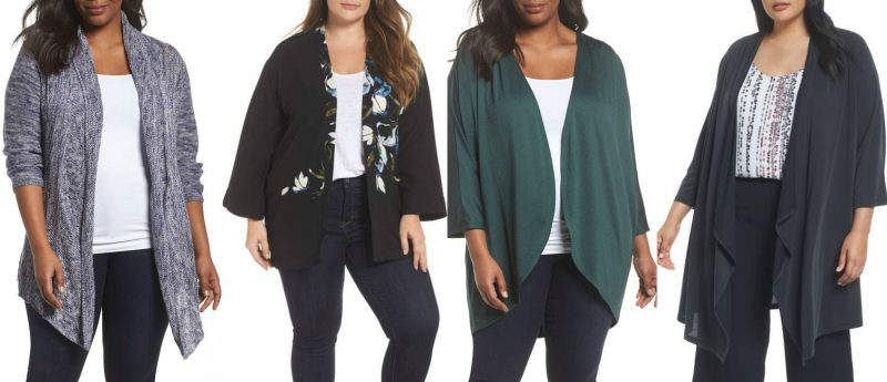 Plus size cardigans for summer in stores now | 40plusstyle.com