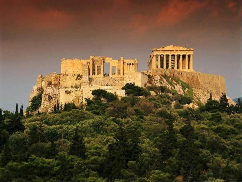 Афины являются настоящей колыбелью цивилизации
