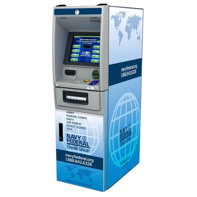 NCR SS28 (SelfServ 28) Custom ATM Graphic Wrap