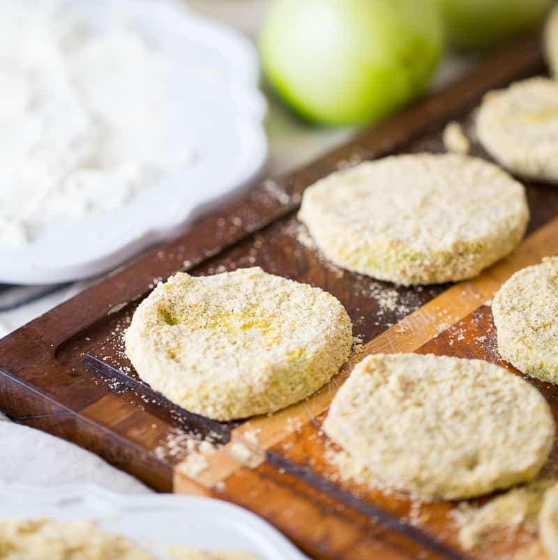 breaded green tomatoes