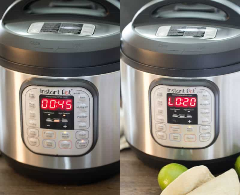 how long to cook pork shoulder in the instant pot