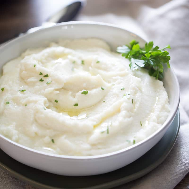Instant Pot Mashed Cauliflower