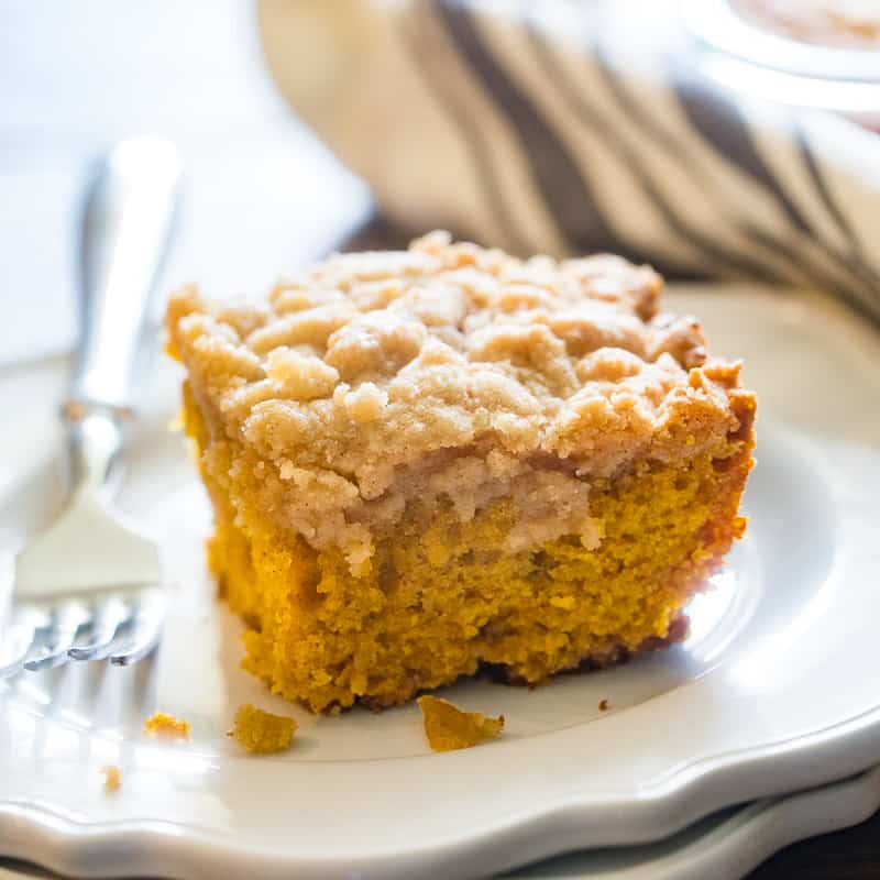 featured pumpkin coffee cake image