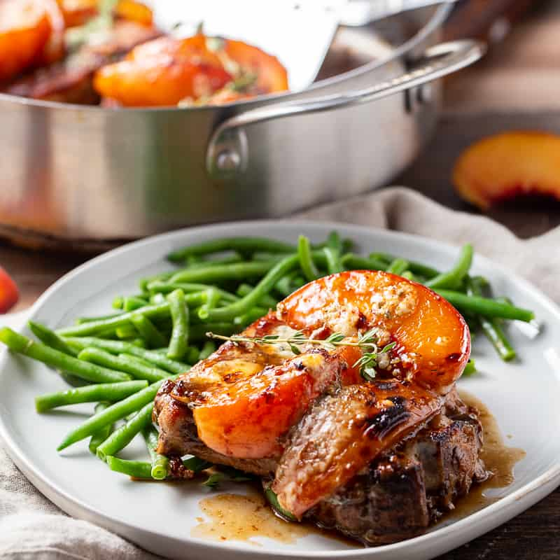 Peach Pork Chops
