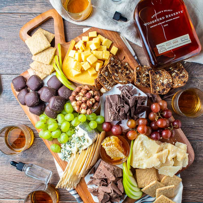 Exploring Cheese and Chocolate Bourbon Pairings