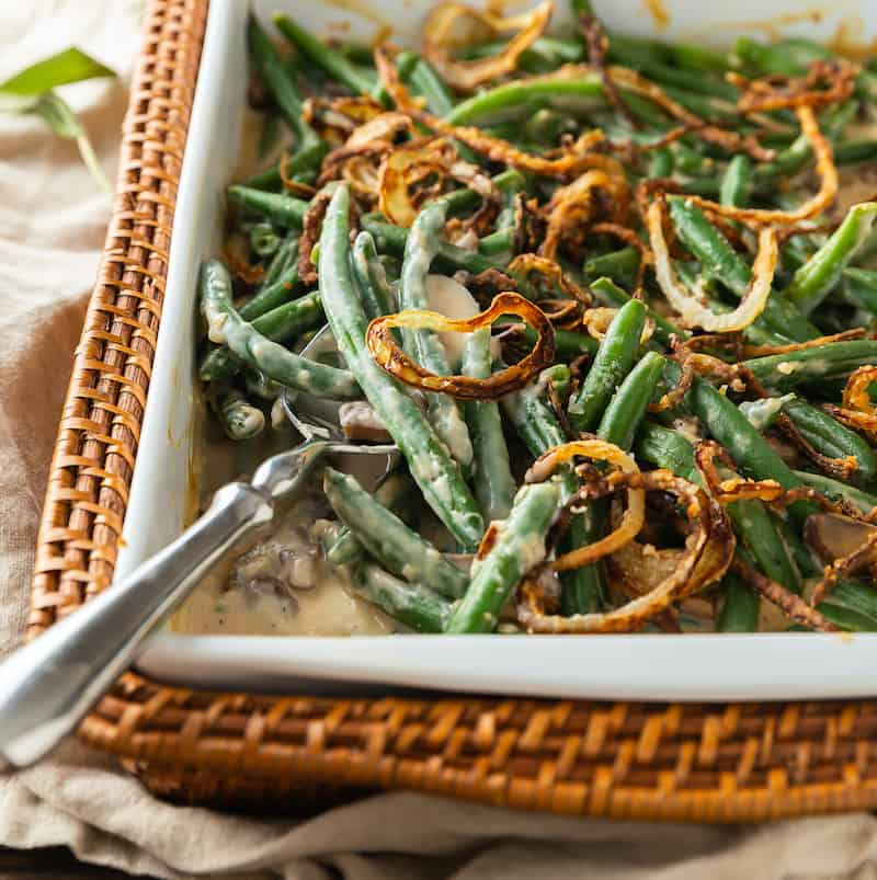 green bean casserole without cream of mushroom soup