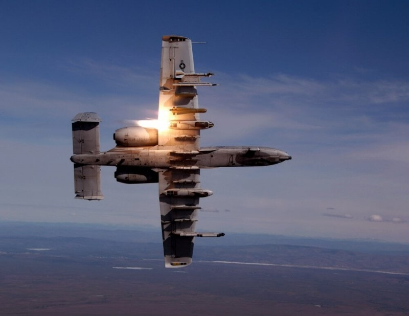 A-10 Thunderbolt II wings