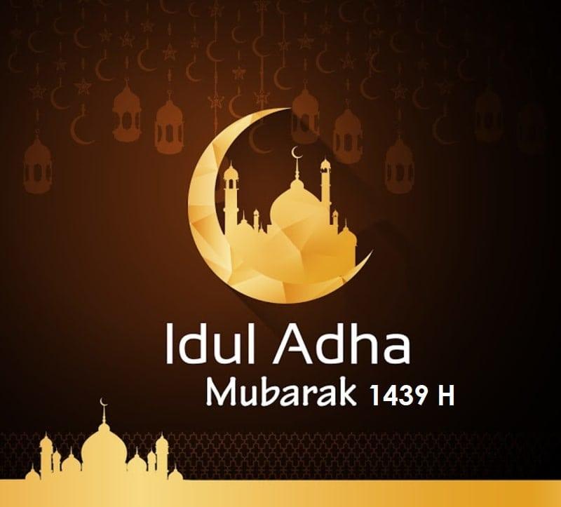 Khutbah Hari Raya Idul Adha 1439H