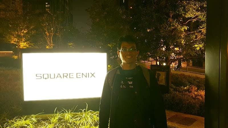 square enix shinjuku tokyo