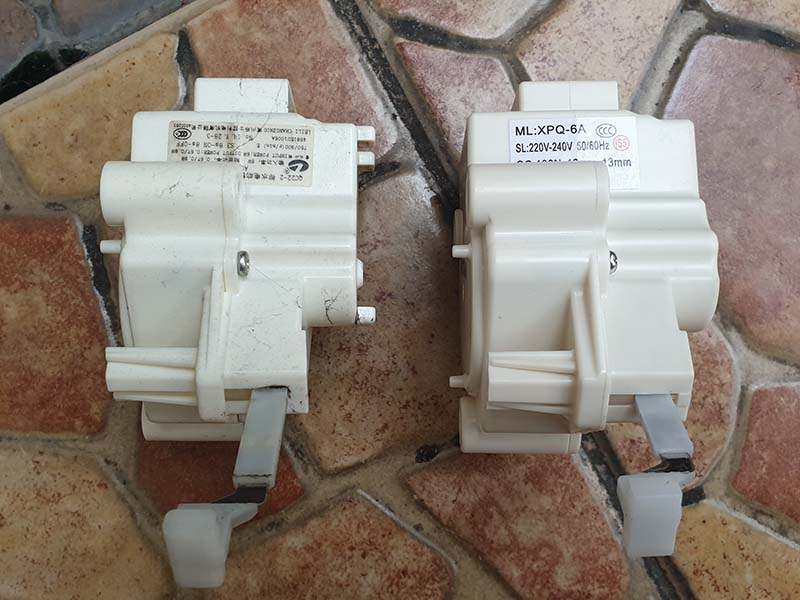 modul drain pump mesin cuci LG