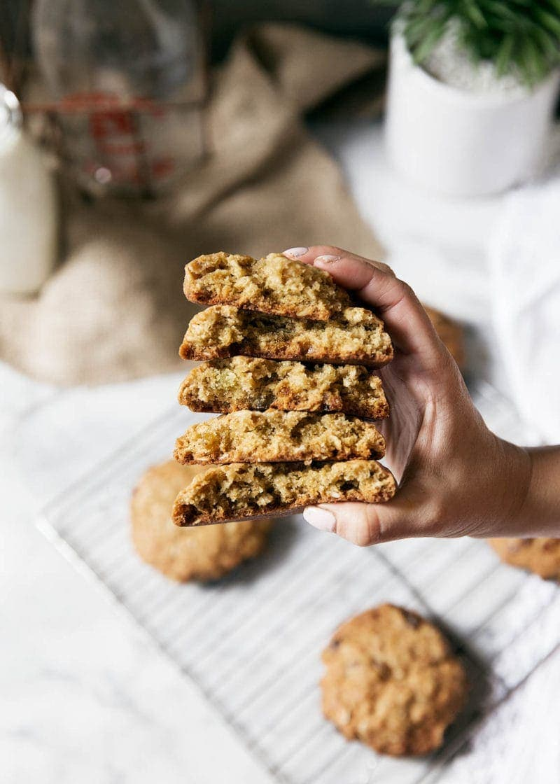 Warm, chewy, and fragrantly spiced, these Golden Raisin Cardamom Oatmeal Cookies will be an exotic addition to your cookie repertoire!