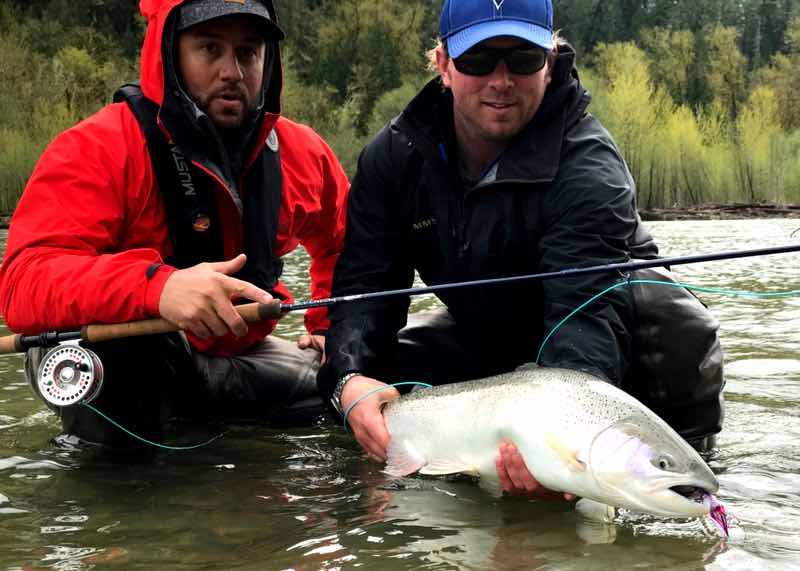 Vancouver fly fishing guide service