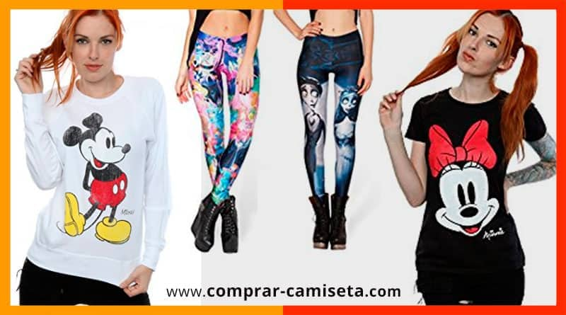 3f218a0a66cb Camisetas, sudaderas, tops, pijamas... ropa Disney para mujer