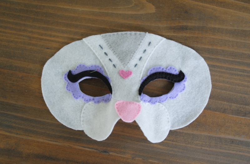 Halloween Mask Sewing Instructions