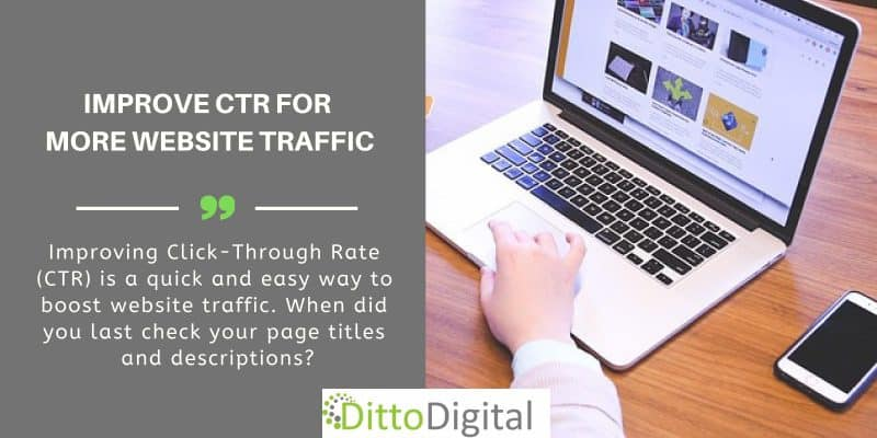 SEO Services High Wycombe - improving CTR