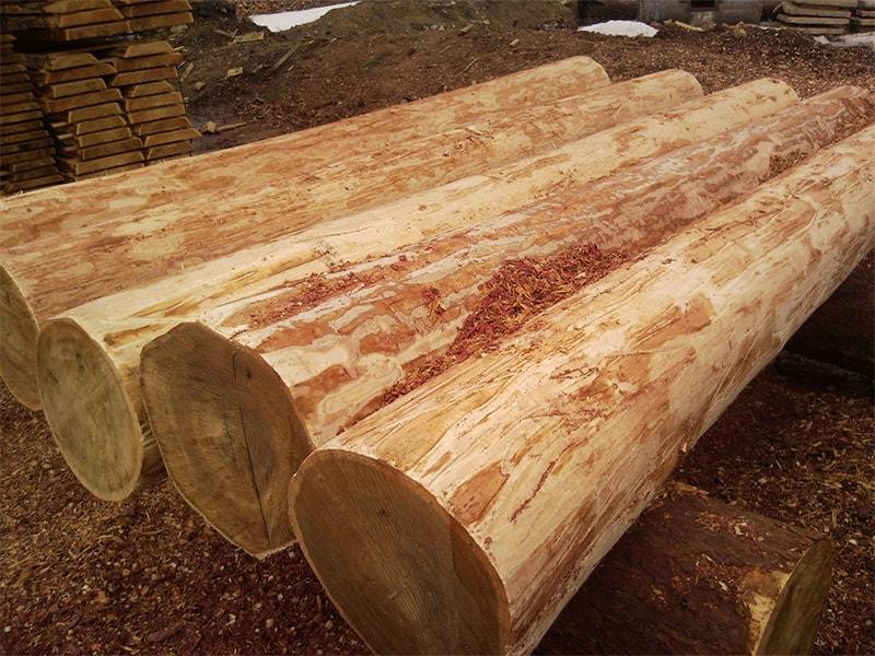 Виды материалов для строительства деревянного дома