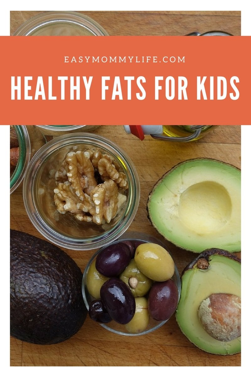 healthy fats for children