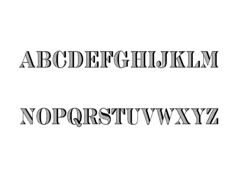 Engravers Opti Inline Font Download