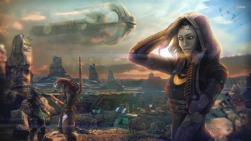Mass_Effect_Andromeda Skin Mods