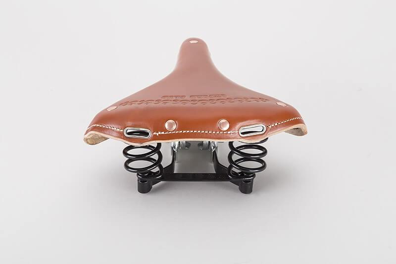 Włoskie siodło rowerowe skórzane - stylowe siodełko