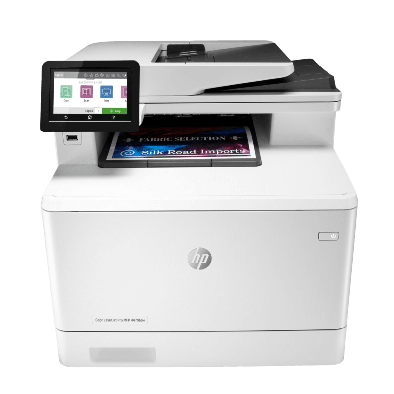 HP Colour LaserJet Pro MFP M479fdw Front View web