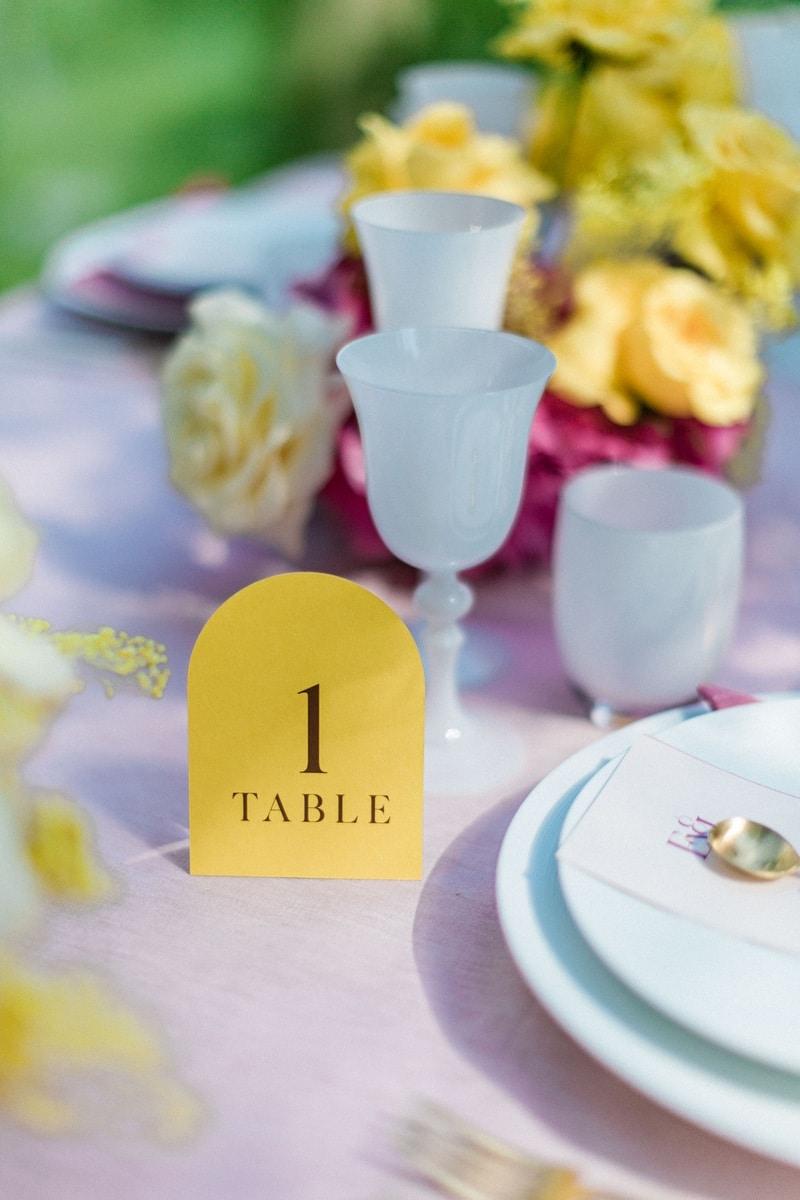 decoration table mariage du chateau de roquefoulet