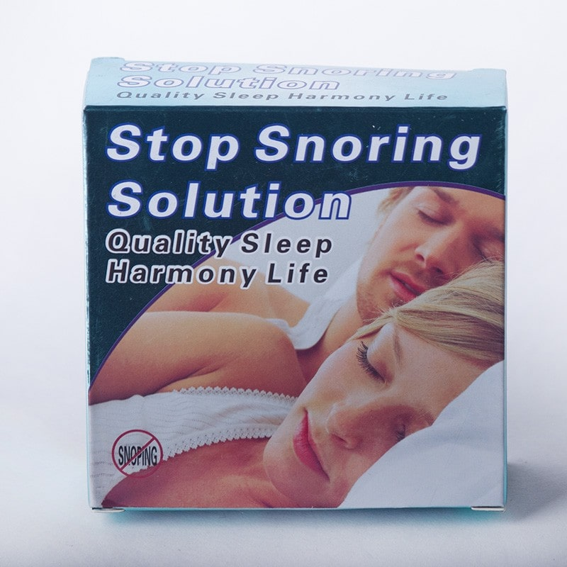anti-snoring mouthpiece box