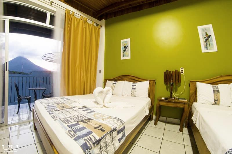 Arenal Hostel Resort one of the best hostels in Costa Rica
