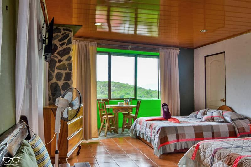 Cabinas Vista al Golfo one of the best hostels in Costa Rica