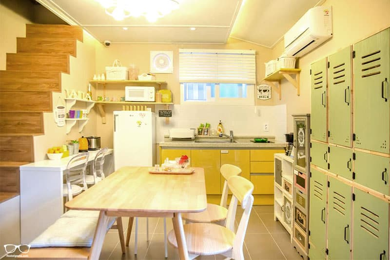 Hostel Vanilla 1 Dongdaemun is one of the best hostels in Seoul, South Korea