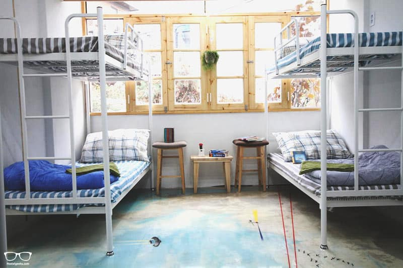 Time Travelers Relax Guesthouse is one of the best hostels in Seoul, South Korea